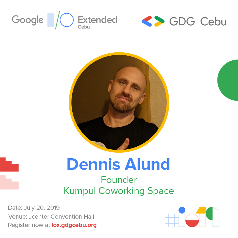 Join me tomorrow at #IO19xCebu to learn about how we built outstanding user experience with #ActionsOnGoogle #AoG #UX #GDE #io19