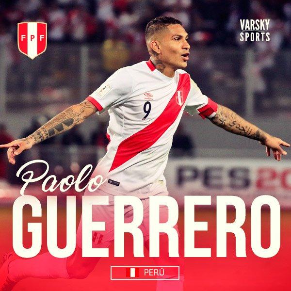 """""""Todavía tengo mucho rato para jugar al fútbol y es un deseo mío pasar por Argentina"""". Firma: Paolo Guerrero 🇵🇪, en Fox Sports Radio."""
