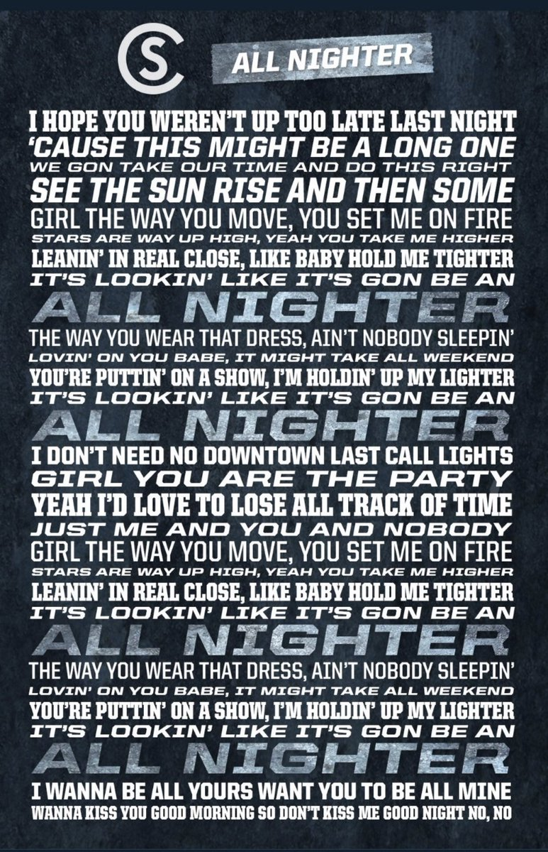 I have been lucky enough to hear this several times in @coleswindell VIP Experience ....where you get to hear his unreleased songs (SO worth it!) Tomorrow it will be out ! It's a summertime jam !!!! #allnighter<br>http://pic.twitter.com/lqmklJbCfO