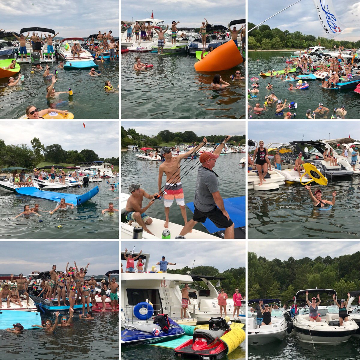 LAKE30Palooza Countdown:  9 Days!⏳⚓️ Who's excited?! Cove giveaways from our awesome sponsors throughout the afternoon...be sure to make some noise for the giveaways! Huge Thanks to all the Sponsors!!  See you on the lake...it's LAKE:30!✌️😎 http://Lake30.com #lake30 #trl  – at Table Rock Lake
