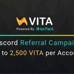 Image for the Tweet beginning: 💰Tell your friends about #VITA