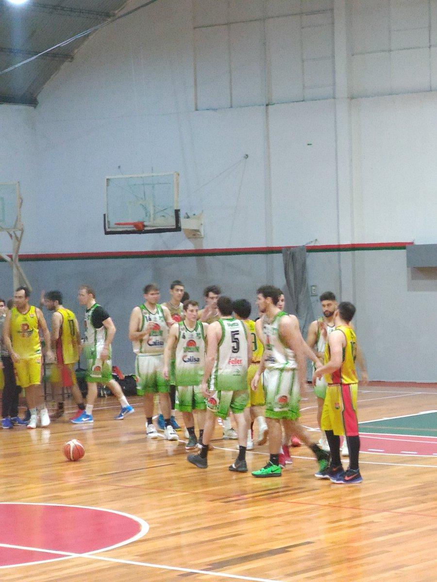 #APB #PrimeraA  ¡Final del partido!  Recreativo 60-67 Unión de Crespo