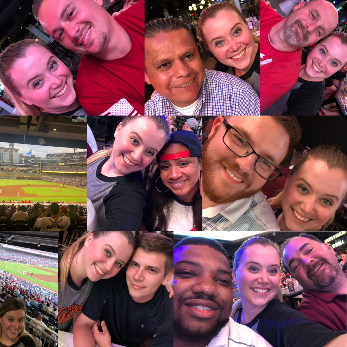 What an amazing way to end the week. With a braves game and good time with some of the best leaders our company has. Thank you for all your shared knowledge and advise! I am truly lucky to have met each and everyone of you! #hdu #atlanta