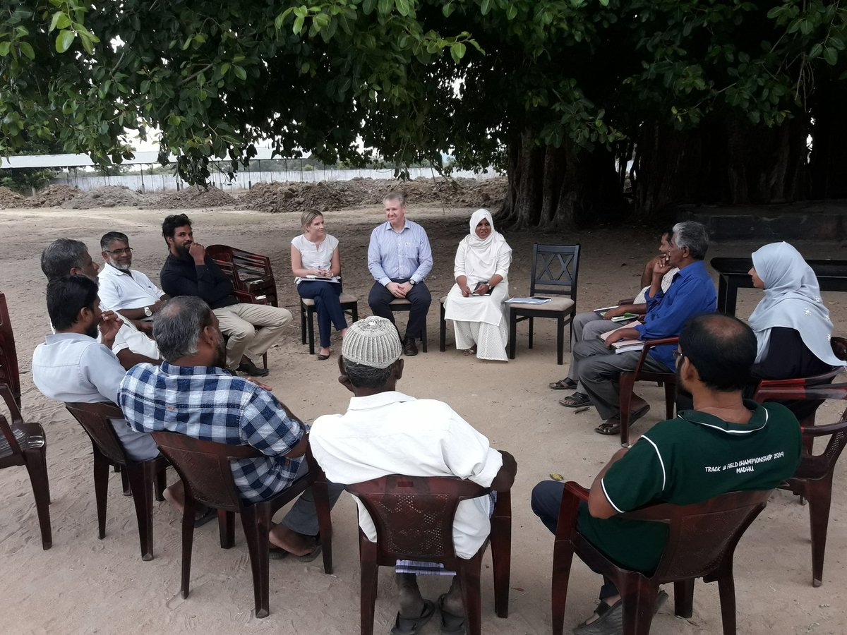 Historical visit by #Australian #ambassador to Mannar, #Musali area  #Historically this is a first visit by an ambassador to Mannar Musali  It is the only division in #northern Sri Lanka majority are #Muslims  They were #expelled by #LTTE in 1990 now #returning to their home land