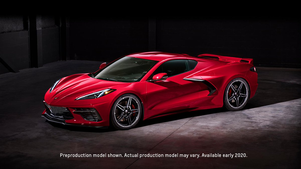 Chevrolet On Twitter It S A Mid Engine Masterpiece Introducing