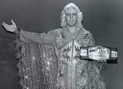 Forty-one years ago today on this date: Ric Flair defeated Blackjack Mulligan at Township Auditorium in Columbia, S.C. <br>http://pic.twitter.com/d2YJe0cqvb