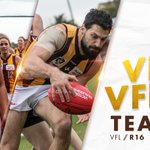 Image for the Tweet beginning: Both Hawthorn VFLW and Box