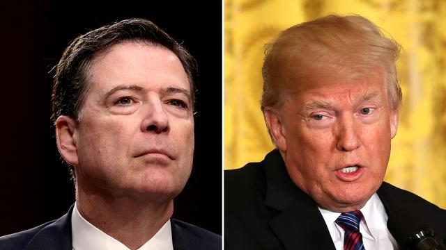 Comey on Trump: 'I found his hands to be above average in size' https://t.co/flAIrK4SKM https://t.co/LMJ90fbFTQ