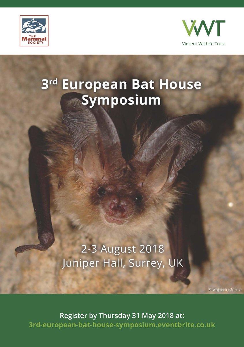 vincent wildlife on twitter the 3rd european bat house symposium