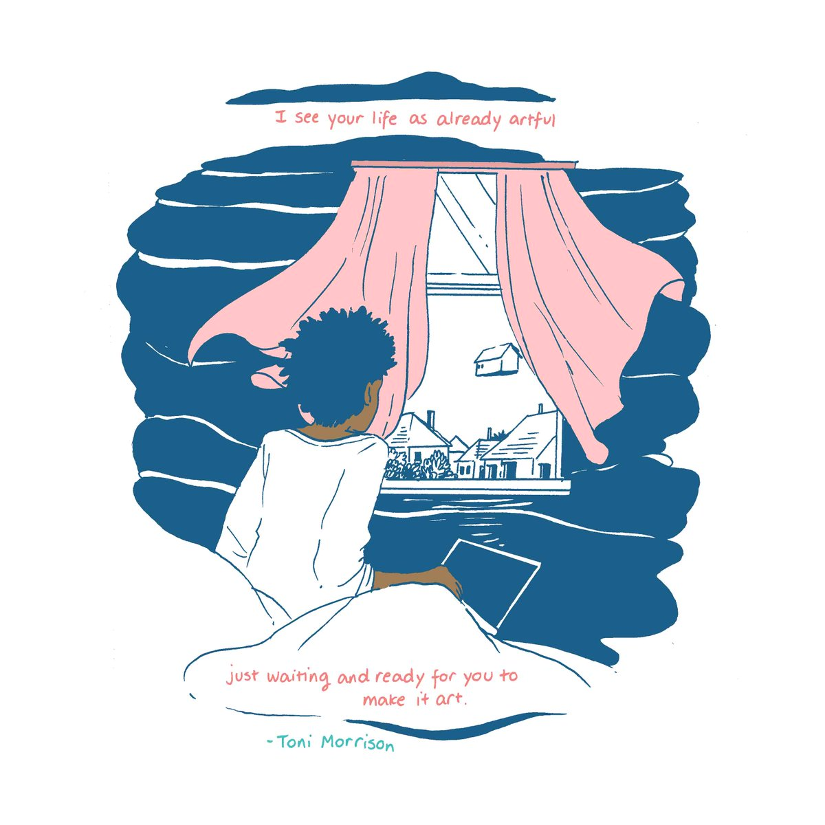 .@tilliewalden breathes life into another #MiniMeditation on #Creativity: &quot;I see your life as already artful, just waiting and ready for you to make art.&quot; Sound words from #ToniMorrison. .  https:// liminal11.com/2018/03/16/min i-meditations-on-creativity-2/ &nbsp; …  .. #fridayfeeling<br>http://pic.twitter.com/xKAam5HqmT