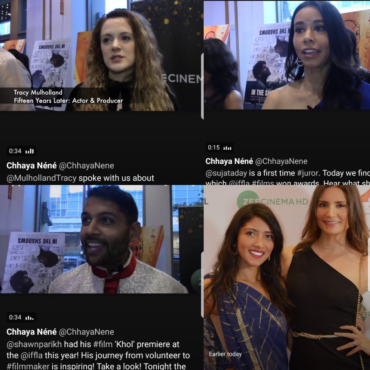 OMG. @Tatyfig &amp; I made #twittermoments today for our coverage of @iffla!! #iffla2018  thrilled that @ShawnParikh @sujataday &amp; @MulhollandTracy are a part of the moment!! Go see their #films &amp; or their work!   http:// bit.ly/2JCgCdj  &nbsp;   &lt;------ check it out!<br>http://pic.twitter.com/tzTAA71EOy