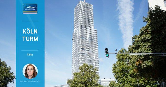 Objekt der Woche: #Köln<br><br>Im höchsten Büro-Gebäude Kölns behalten Unternehmen den Überblick. Aktuell stehen im Kölnturm 413 m² Bürofläche zur Vermietung. Alle Informationen zum Objekt gibt&rsquo;s hier:  t.co/VMnMzd55OS