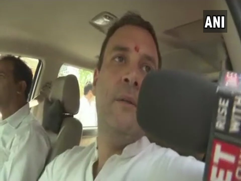 Modi Ji has destroyed the banking system. Nirav Modi fled with Rs 30,000 crore & PM didn't utter a word. We were forced to stand in queues as he snatched 500-1000 rupee notes from our pockets & put in Nirav Modi's pocket: Rahul Gandhi on Cash crunch