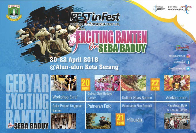 #GebyarExcitingBanten2018 Photo