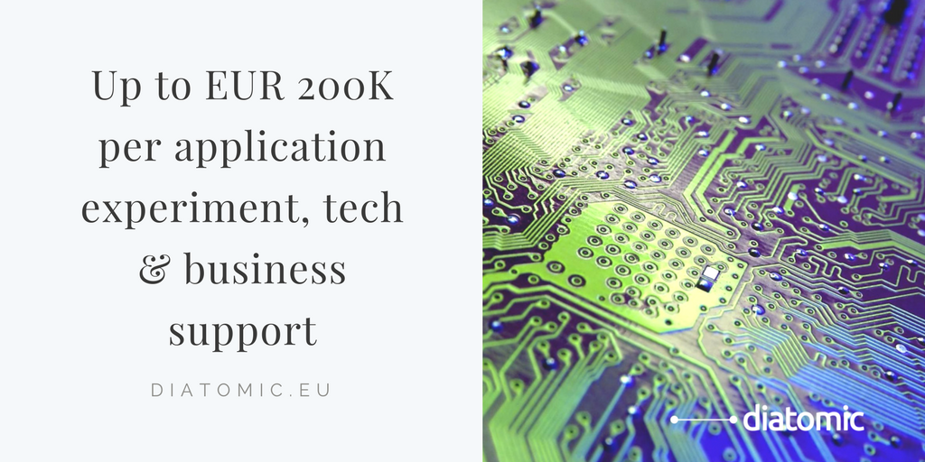 Accelerate your #microelectronics solution by applying now for @DiatomicEU Design / Develop / Market program.  To apply:  https:// buff.ly/2px9O7l  &nbsp;   #innovation #accelerator #agTech #eHealth #disruptivetech #EU #Industrie40<br>http://pic.twitter.com/WLvkkSmh96