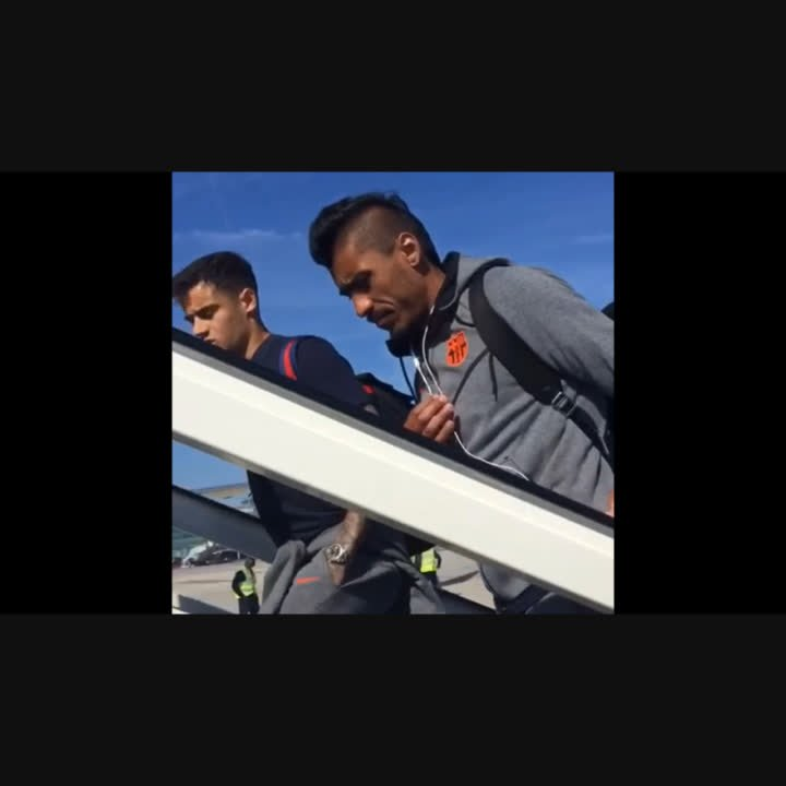 ✈ Vigo ⚽ #CeltaBarça ���� https://t.co/CEEAokAy8x