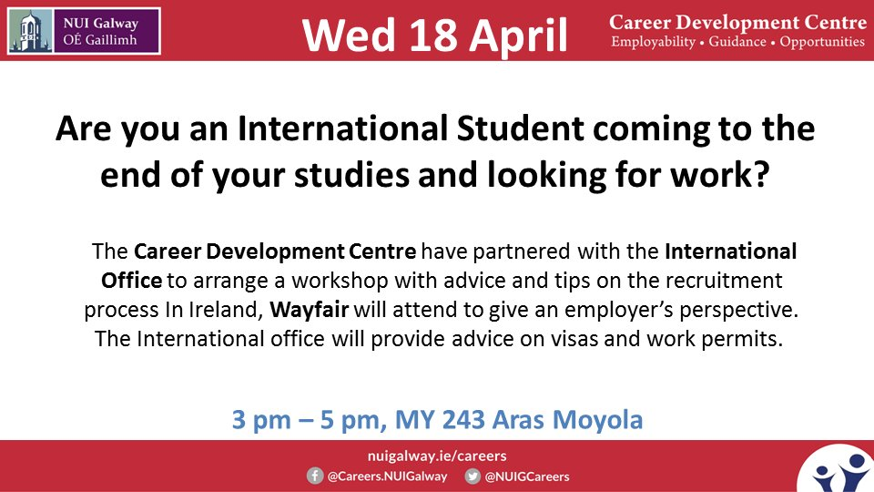 Careers NUI Galway on Twitter: