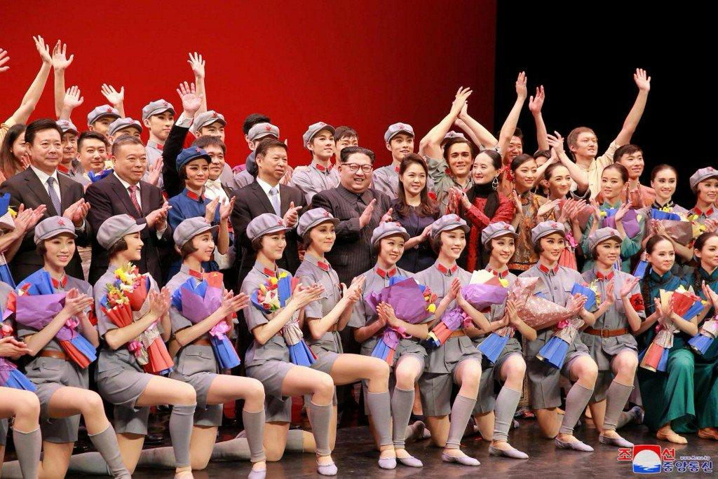 No missiles but ballet as North Korea's Kim puts on a show https://t.co/lgfMLurTcT https://t.co/3J1SjgGwzz