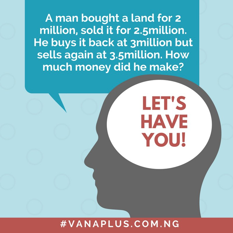 Can you solve this? #Vanaplus #OfficeStationery #BBnaija #Abuja #Deals #Onlineshopping #Back2school #upto20percentdiscount<br>http://pic.twitter.com/EaHfkHZOxw