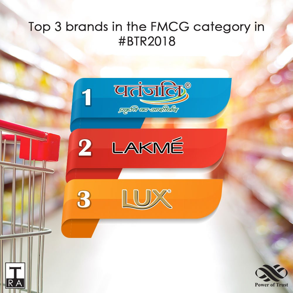 Here are the top 3 brands in one of the most important consumer categories in India - #FMCG -  @PypProducts @ILoveLakme and #LUX Congratulations!<br>http://pic.twitter.com/pAbuaKL0mj