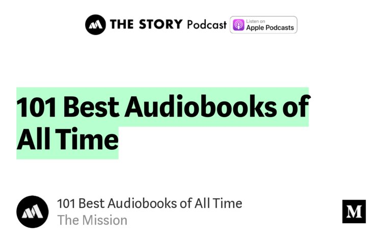 top audiobooks of all time