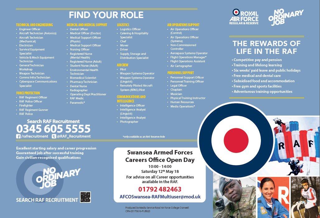 RAF Recruitment on Twitter: