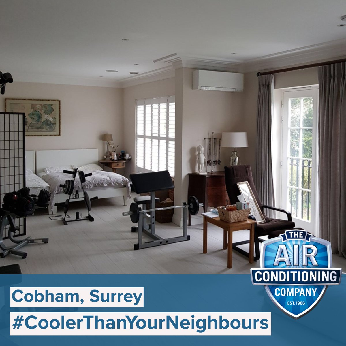Air Conditioning Co A Vrf System Installed With Mitsubishi Zen Conditioners In Cobham Surrey Coolerthanyourneighbours Mitsubishihvac