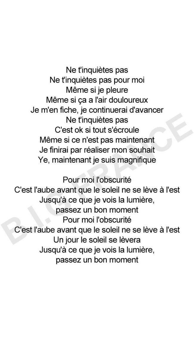 "B.I.G France on Twitter: ""[PAROLES] 180415 GUNMIN X HEEDO - Don't Worry  Paroles originales : VIXX Ravi et B.I.G Heedo Traduction coréen-anglais :  @bluerosee99 Traduction anglais-français : B.I.G France  https://t.co/r6c97dSwhX… https://t.co/nwhHsCx2k7"""