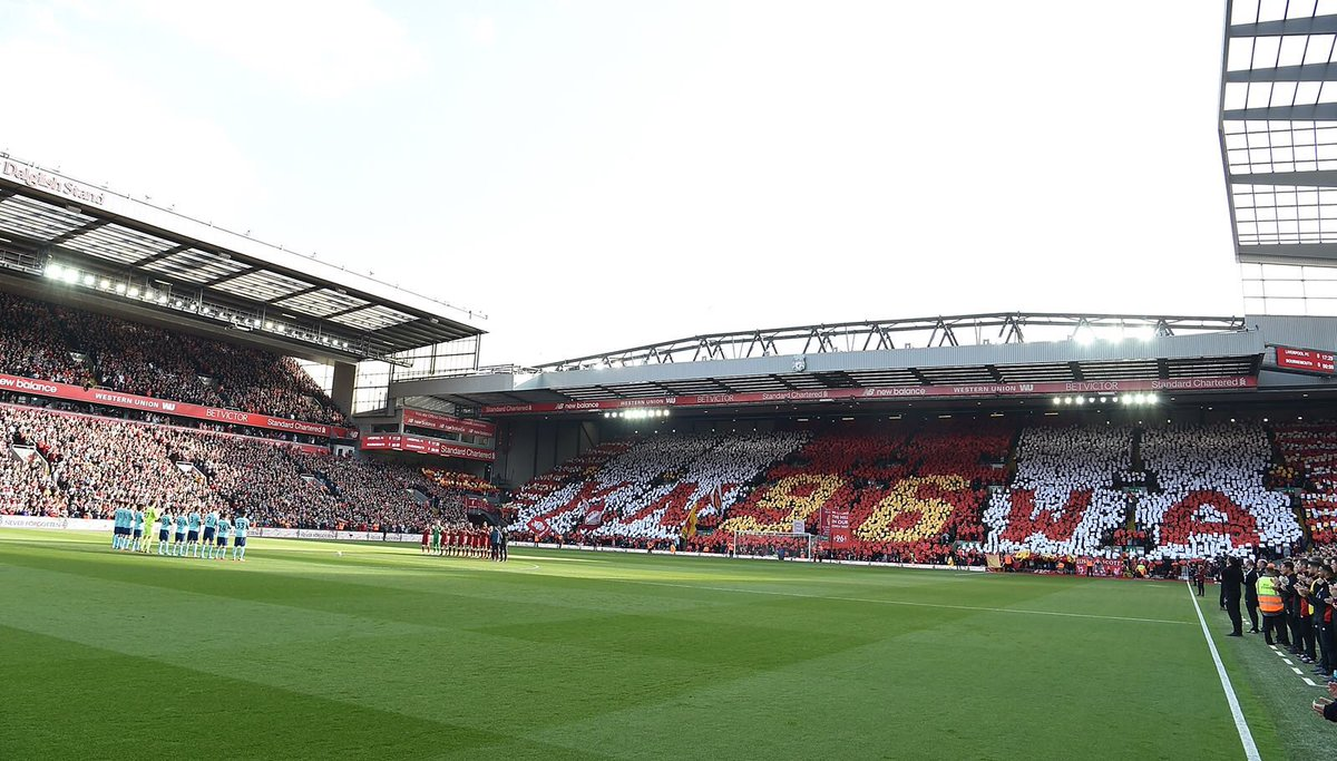 29 years ago today, 96 children, women and men lost their lives at Hillsborough. We will never forget them #JFT96 #YNWA
