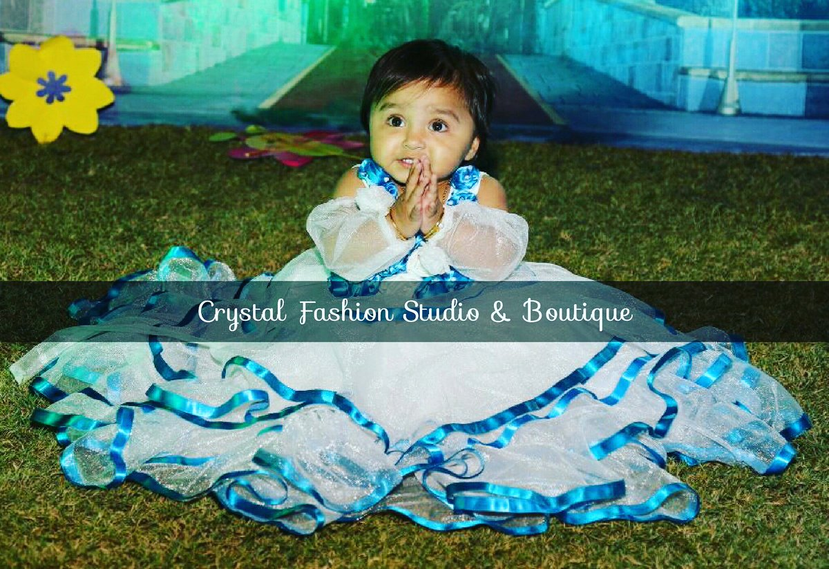 Crystal Fashion Studio Boutique On Twitter Client Diaries Design For Little Princess 1st Birthday Outfit Frozen Princess Happy Client Partywear Crystal Crystalfashion Designer Khushbu Raval Design By Crystal Fashion