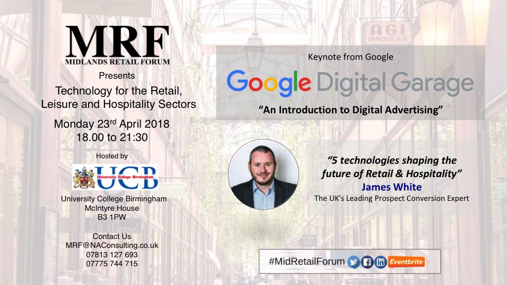 Want to know about #Google Advertising #VR and #AI in #Retail #Leisure #Hospitality @TheAsianToday  @MfdhAwards Click  https:// goo.gl/w7FW4X  &nbsp;   to book your ticket with Code MFDHA<br>http://pic.twitter.com/Mrus2PzQQB