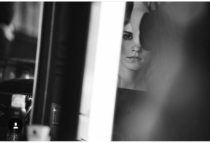 Happy 28th birthday Emma Watson  Photo by Peter Lindbergh