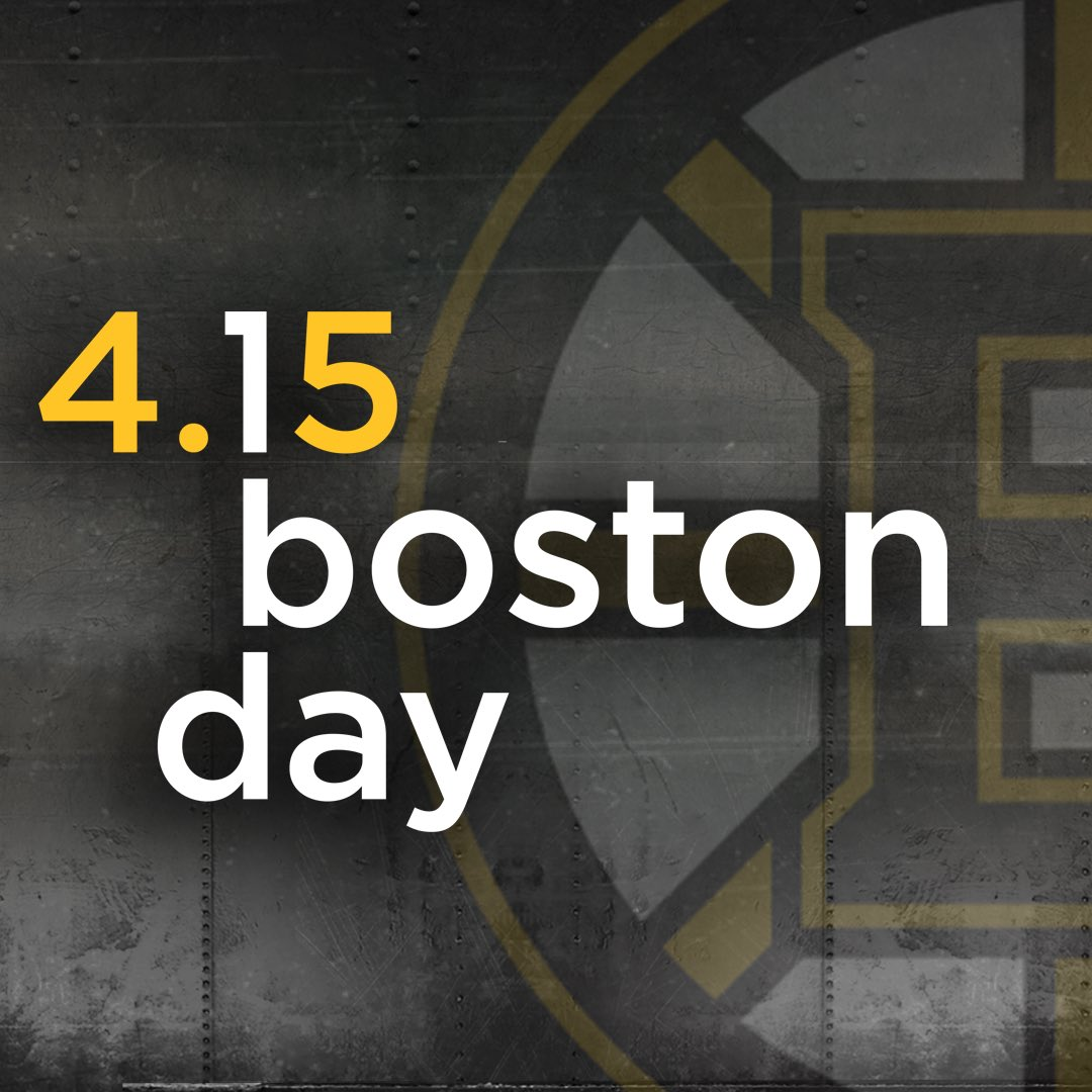 Today, we come together as one to celebrate the resilience, generosity, and strength of the people of Boston. #OneBostonDay <br>http://pic.twitter.com/nYNB0L9ZkD