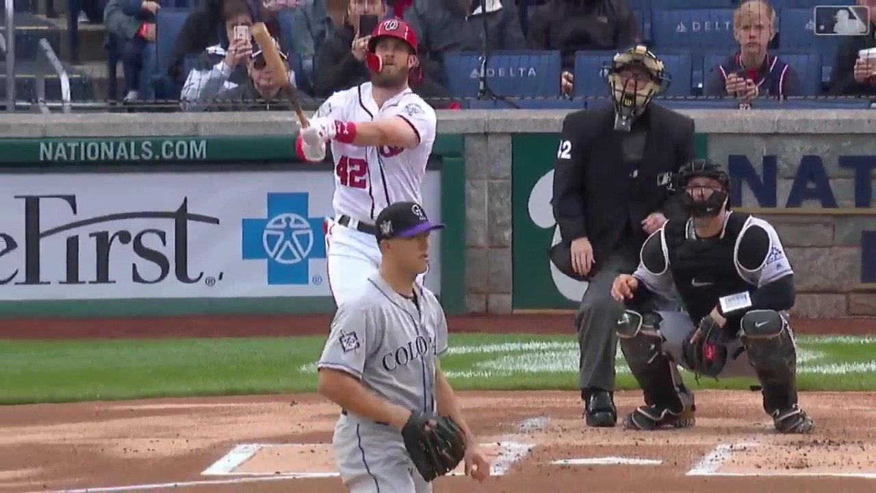 Bryce really wanted to reclaim his league lead in homers. https://t.co/p1rRLfHPXF