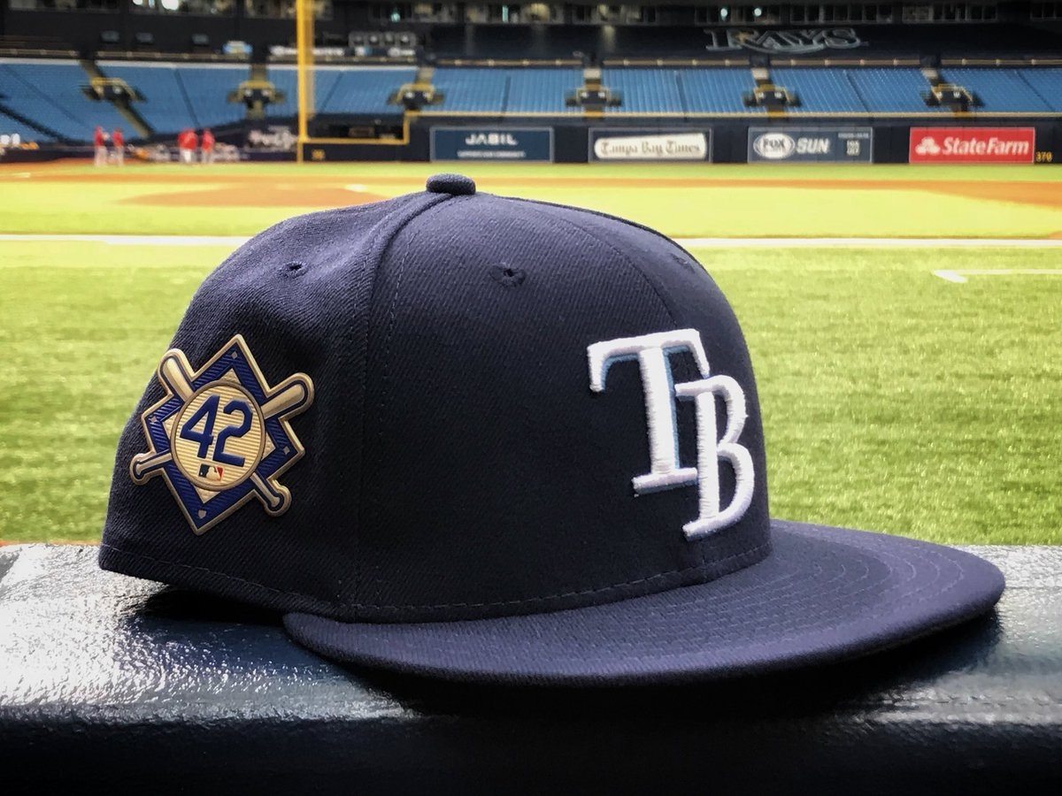 We're proud to wear these caps today.   RT for a chance to win one! atmlb.com/2BrtocY #Jackie42