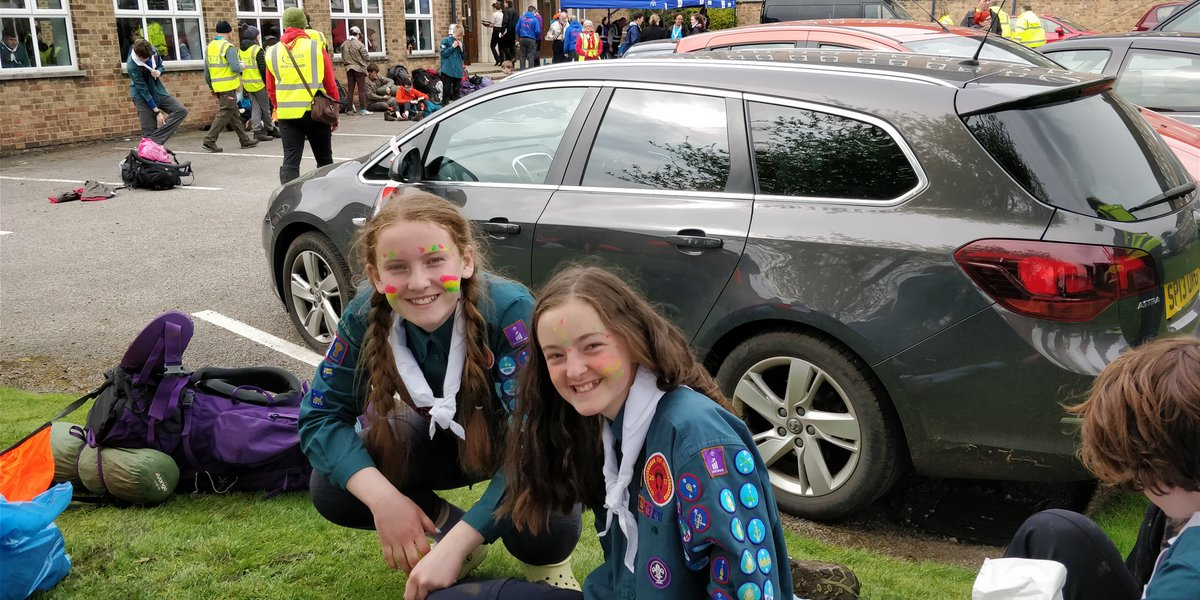 And one from unit 40! Team 316 Congratulations Liz and Megan! #CheshireHike @CheshireScouts @CheshireHike <br>http://pic.twitter.com/wHyRQFhor8