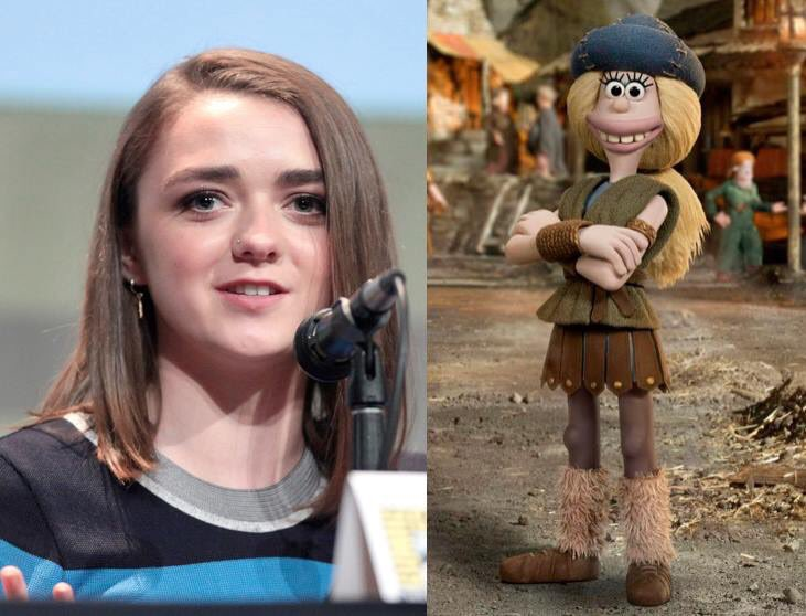 Happy 21st Birthday to Maisie Williams! The voice of Goona in Early Man.