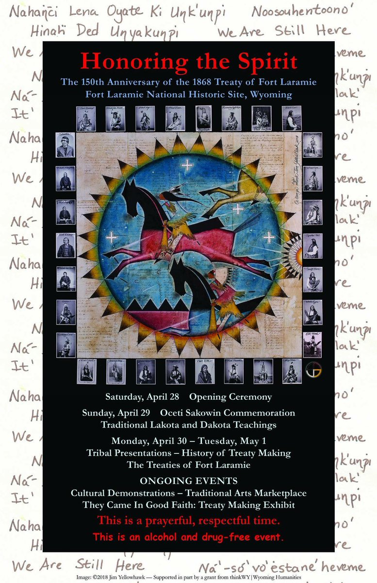 a history of the 1868 treaty of fort laramie The treaty of fort laramie (also called the sioux treaty of 1868) was an agreement between the united states and the oglala, miniconjou, and brulé bands of lakota people, yanktonai dakota, and arapaho nation [1] signed on april 29, 1868 at fort laramie in the wyoming territory, guaranteeing the lakota ownership of the black hills, and further.
