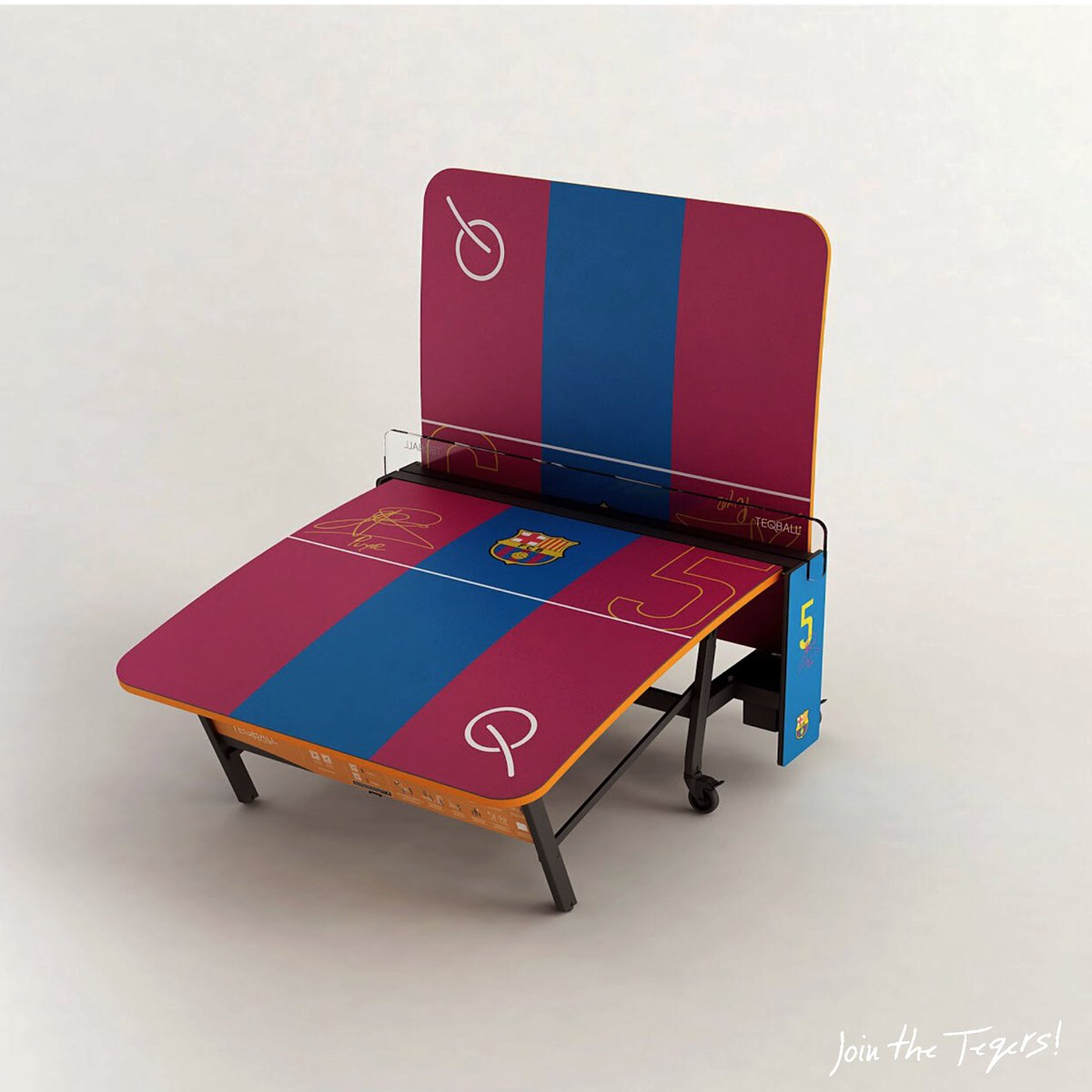 Teqball On Twitter Puyol S Table Is Already In Barcelona
