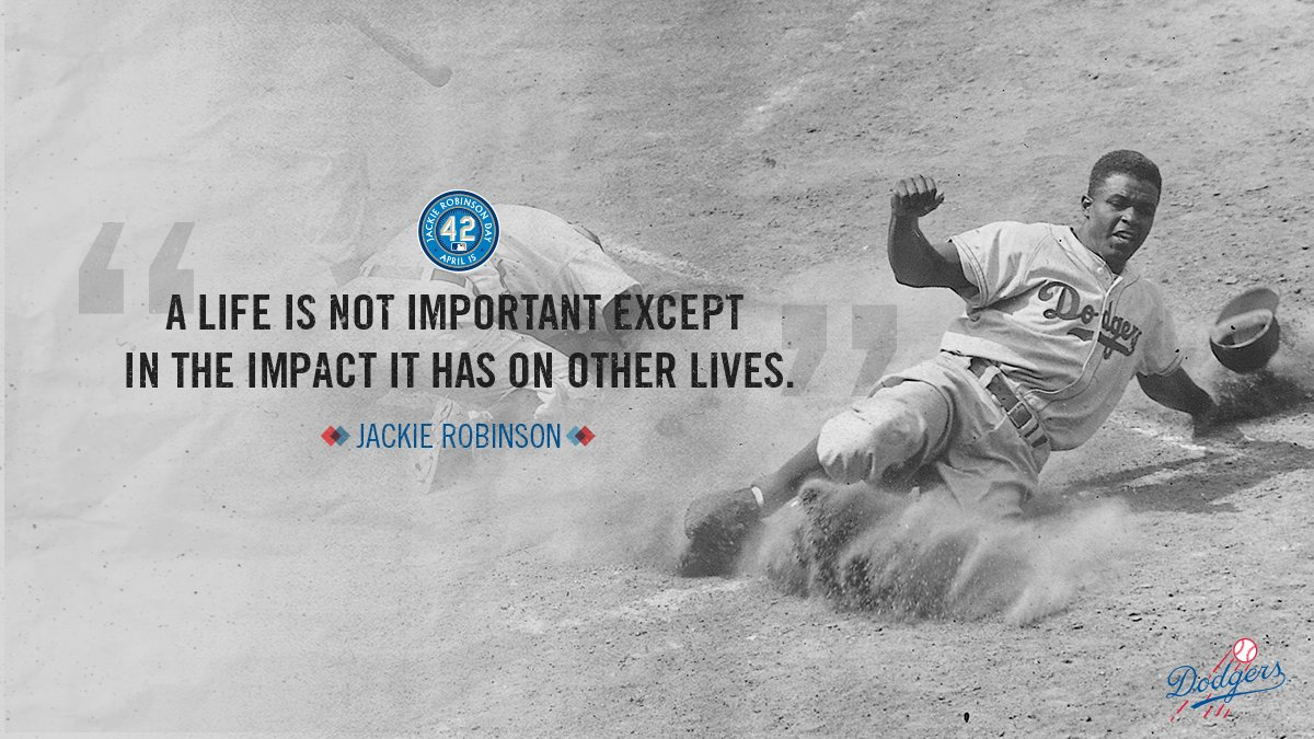 Forever words to live by. #ThankYouJackie <br>http://pic.twitter.com/3JiH2l09Sa