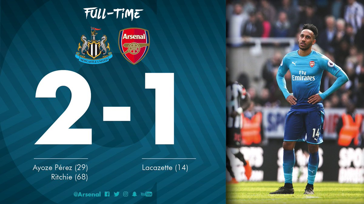 Chấm điểm kết quả Newcastle United 2-1 Arsenal