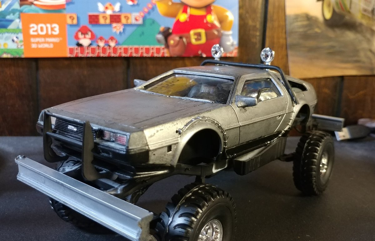 Mikethesergal On Twitter Yea Im Actually Building This Delorean Dmcx4 Postapocalyptic