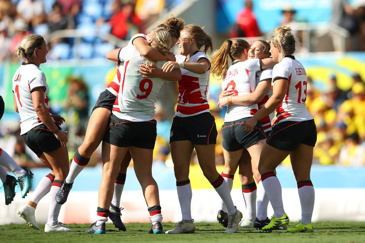 Inspired by the England Women at the #GC2018? Experience rugby for the first time at one of our Warrior Camps taking place across the country: bit.ly/2jYx9Ly