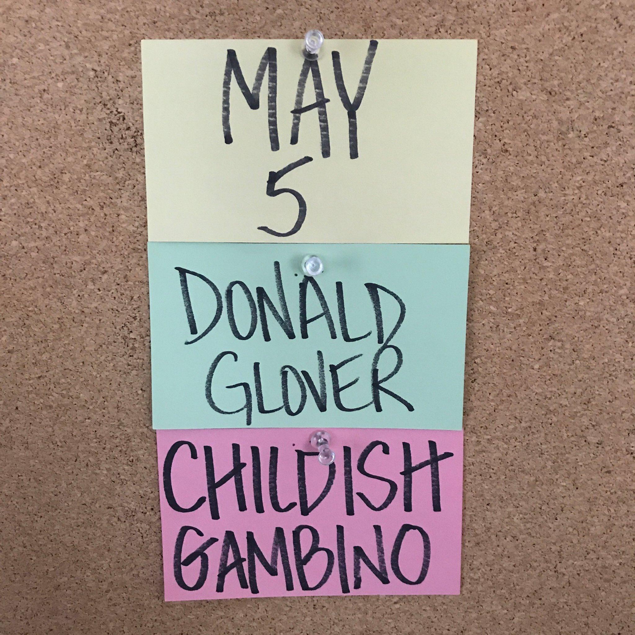 Donald Glover is Doing Double Duty on SNL! https://t.co/Z8Bea2AxBu