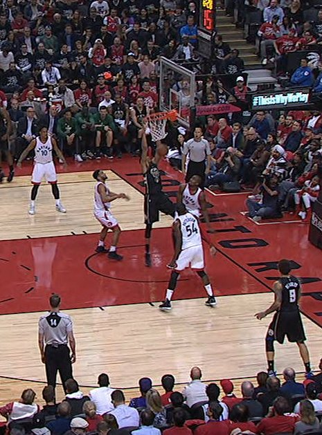 STILL MESMERIZING. ��  1 year ago today, @Giannis_An34 dunked WHILE STILL TOUCHING THE GROUND. https://t.co/ponefkXNR8