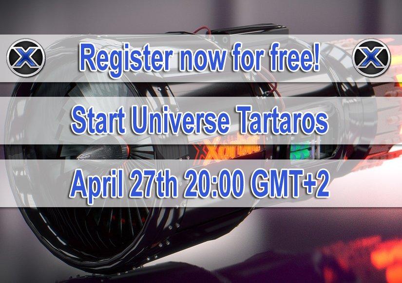 Register now for free! Start Universe Tartaros: April 27th 20:00 GMT+2 #sciencefiction #scifi #browsergames #games #onlinegame #onlinegaming #indiegames #gamedev  #indiedev #gaming #Universe #Weltraum #multilingual #xorbit  https:// xorbit.de  &nbsp;  <br>http://pic.twitter.com/fXdbRXF93v