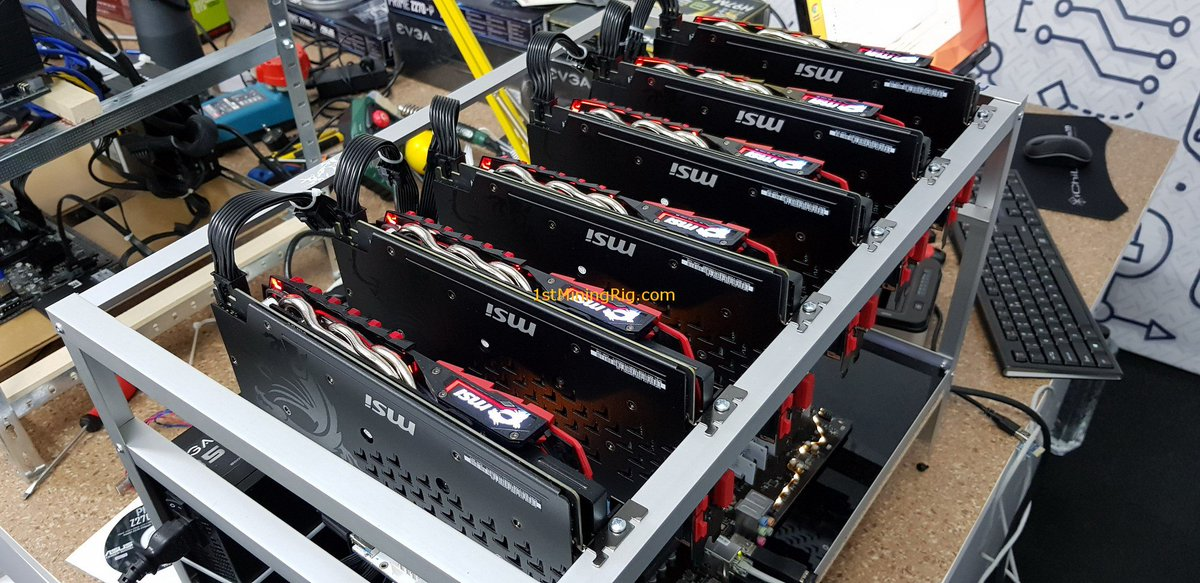 1st Mining Rig (Not giving away ETH) on Twitter: