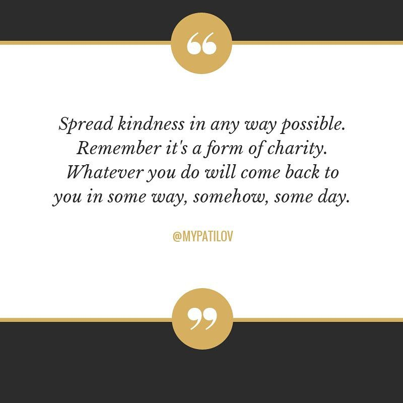 Well said!  Tag that #special someone who has share some kind of #kindness to you.  Like, Comment if you already sharing some acts of kindness.  @noblepatfoundation #TeamJNPG #ThinkBIGSundayWithMarsha #loving #caringquotes #NoblePatFoundation #heartofgold #compassion #hashtags<br>http://pic.twitter.com/xVuAWK0Ofn