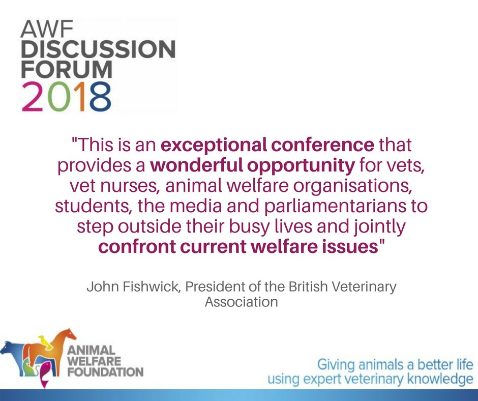 Can #vets tackle #animalwelfare issues by influencing client behaviour? Find out more at the AWF Discussion Forum on 12 June #AWFDebate @tobyopark @rolyowers For more details on the session:  http:// ow.ly/UUuQ30jmaYf  &nbsp;  <br>http://pic.twitter.com/0znZlgGF6z