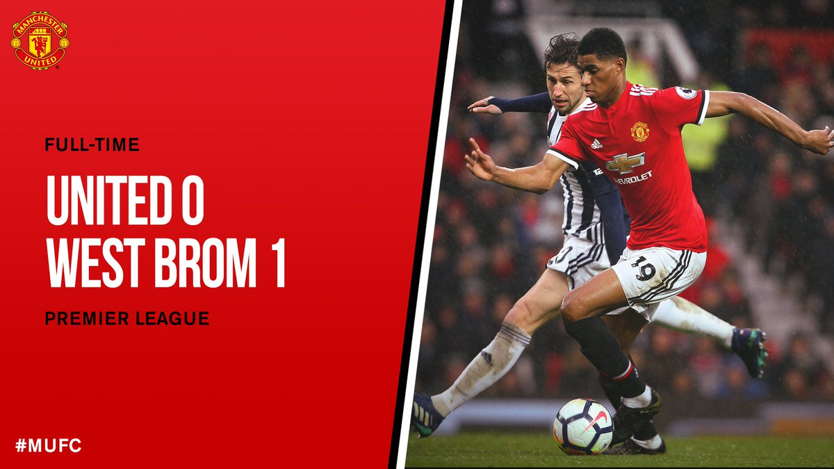 Chấm điểm kết quả Manchester United 0-1 West Brom